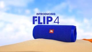 JBL Flip4 Bluetooth Speaker, Black