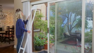 Petsafe Freedom Aluminum Patio Panel Sliding Gl Pet Door Bronze Large Thumbnail Alt12