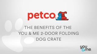 """You & Me 2-Door Folding Dog Crate, 36"""" L x 23"""" W x 24"""" H - Thumbnail-9"""