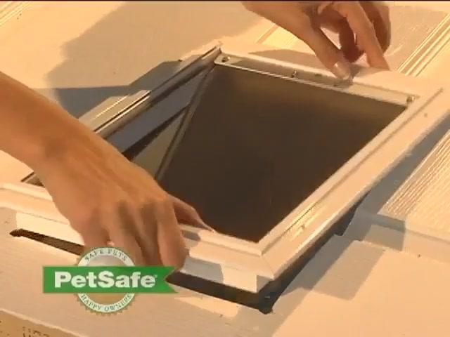 Petsafe Aluminum Pet Door Installation Video Gallery