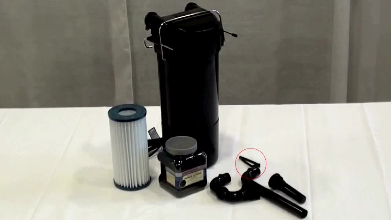 Marineland HOT Magnum Hang On Tank Convertible Canister Filter Pet
