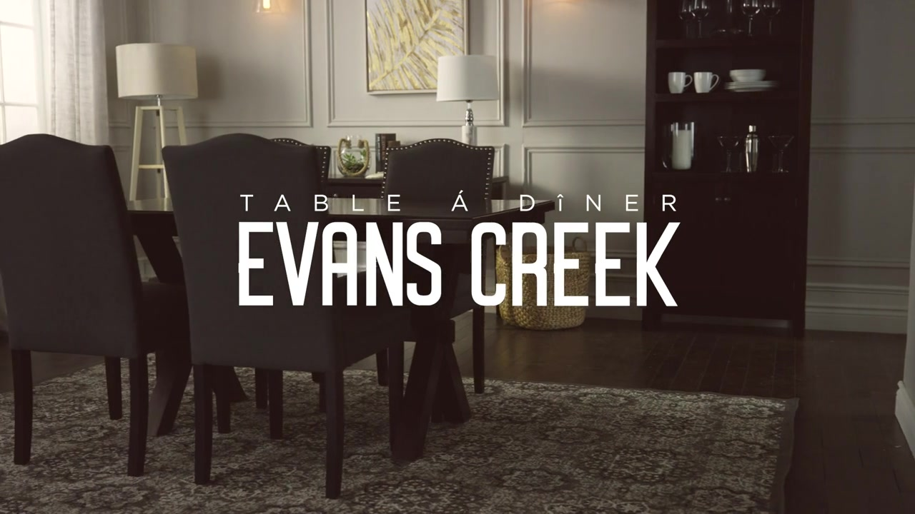 Table Dner CANVAS Evans Creek