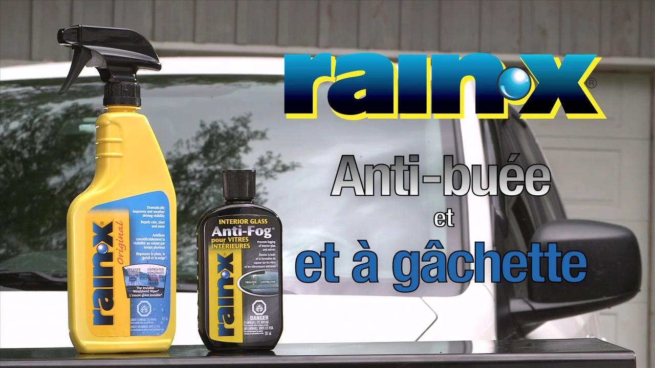 Rain x anti buée