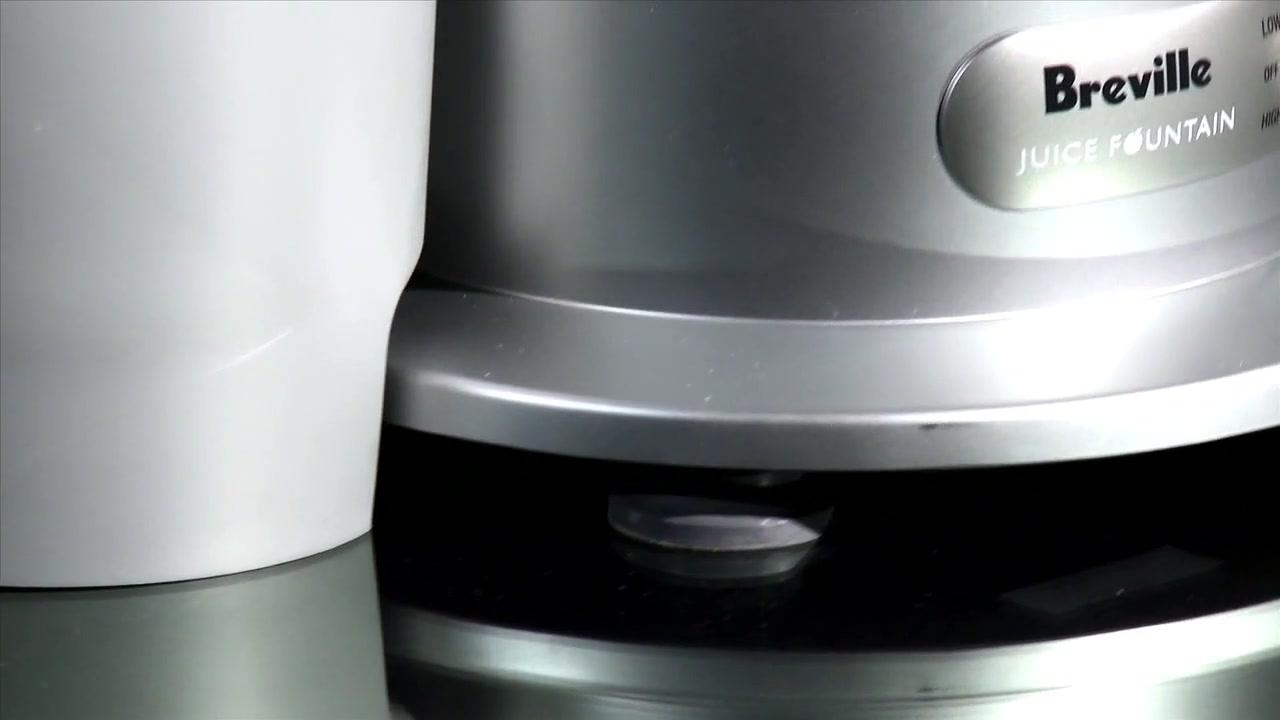 extracteur de jus breville juice fountain plus