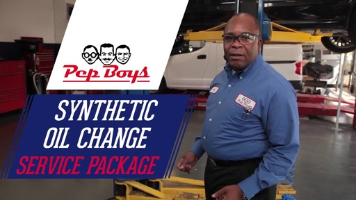 Synthetic Oil Change Packages