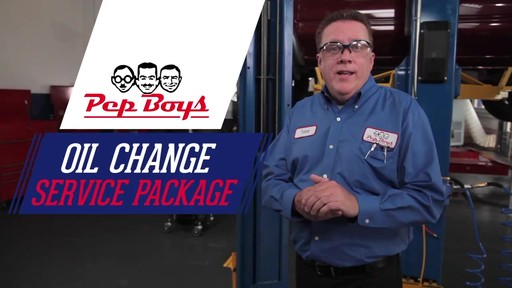 Oil Change At Pep Boys