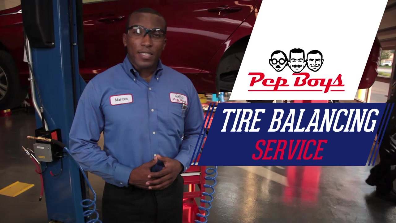Tire Balancing Service Pep Boys