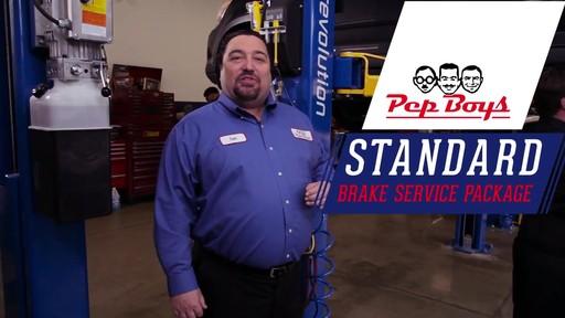 Pep Boys Standard Brake Service Package