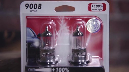 Philips H11 X-tremeVision Upgrade Headlight Bulb with up to 100/% More Vision 2 Pack