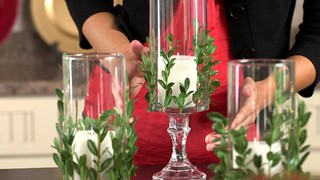 dollar tree christmas centerpieces christmas tip vase with greenery 187 dollar tree 10808