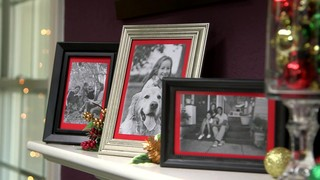 christmas quick tip red frame mattes