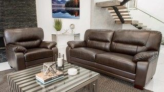 Video: Abbyson Brentwood Armchair Sofa