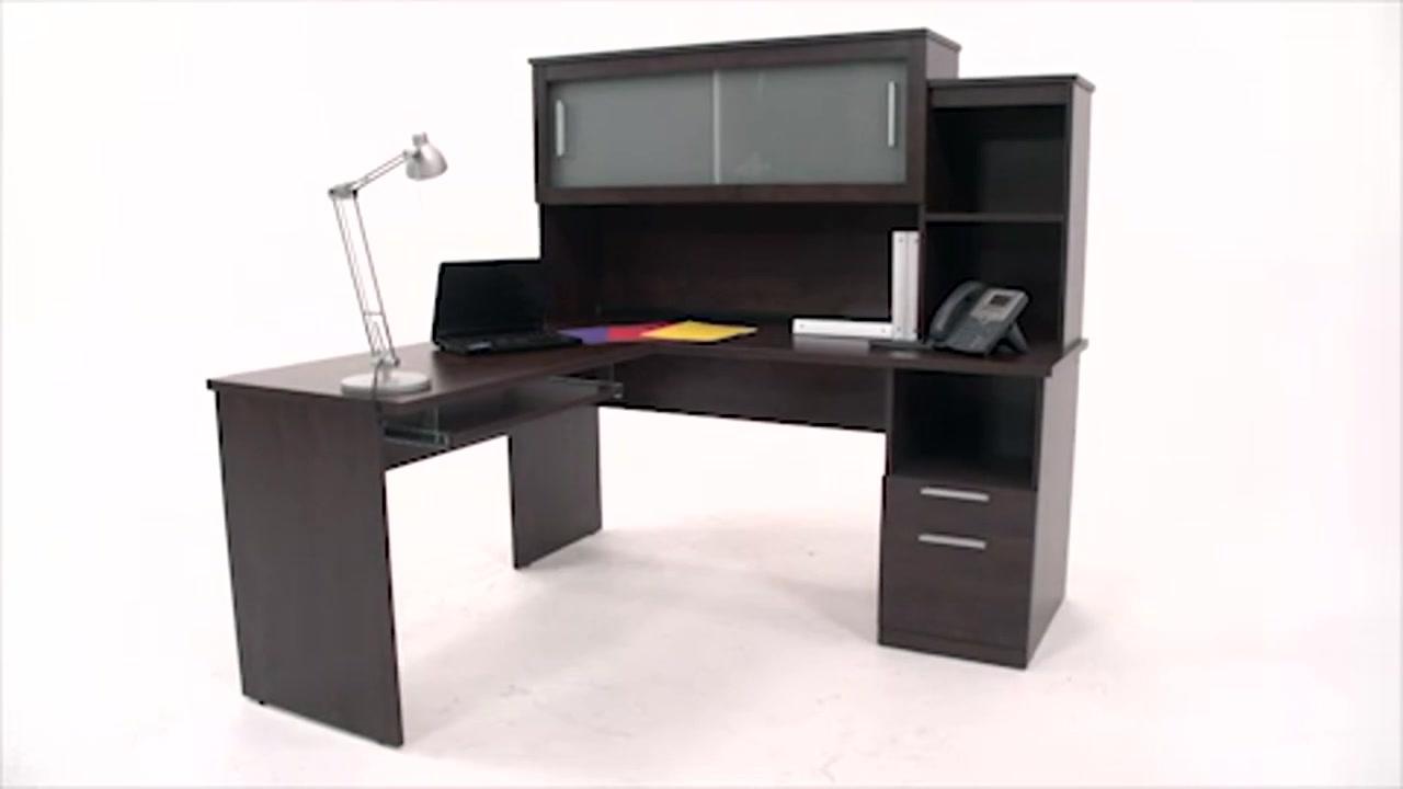 L shaped desk costco whitevan - Costco office desk ...