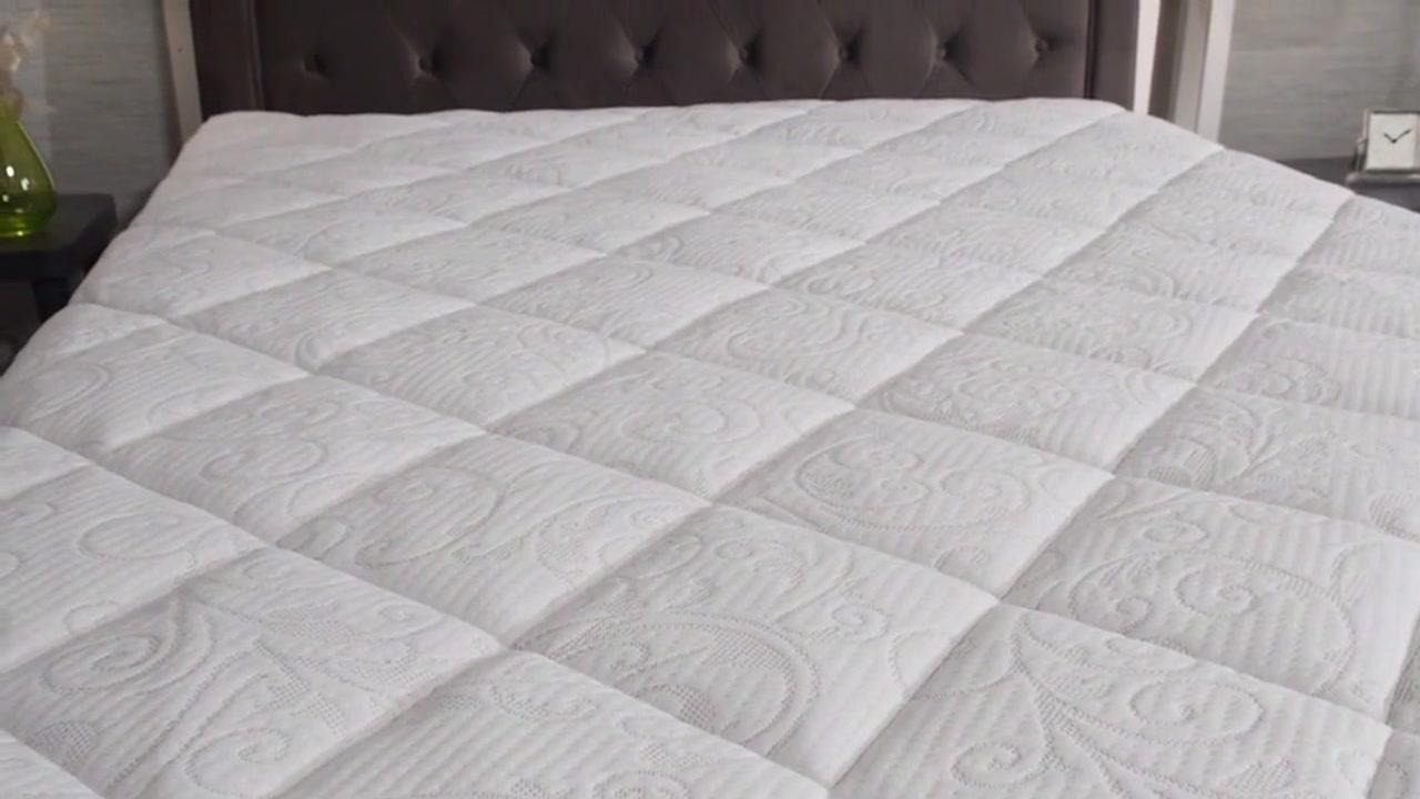 novaform mattress. novaform® serafina gel memory foam topper with pillow top - video gallery novaform mattress