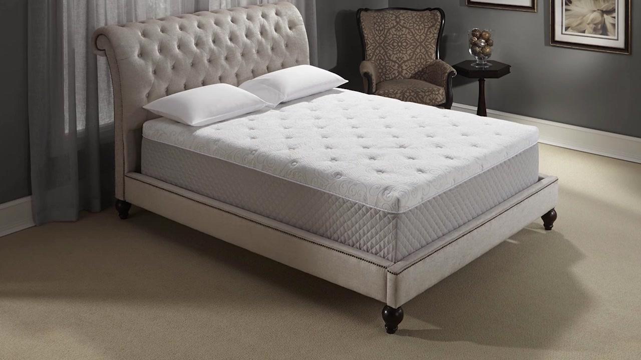 costco of foam luxury pearl medium novaform mattress king memory serafina