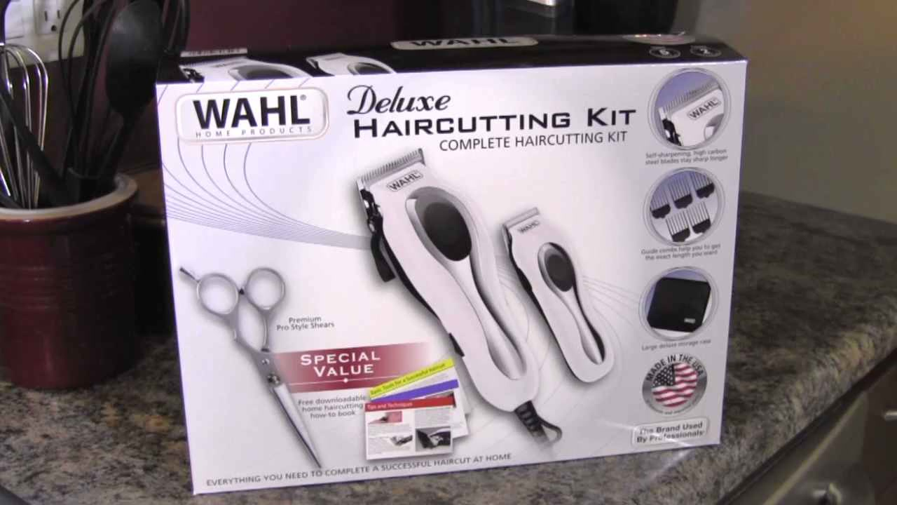 Wahl deluxe haircutting kit video gallery solutioingenieria Image collections