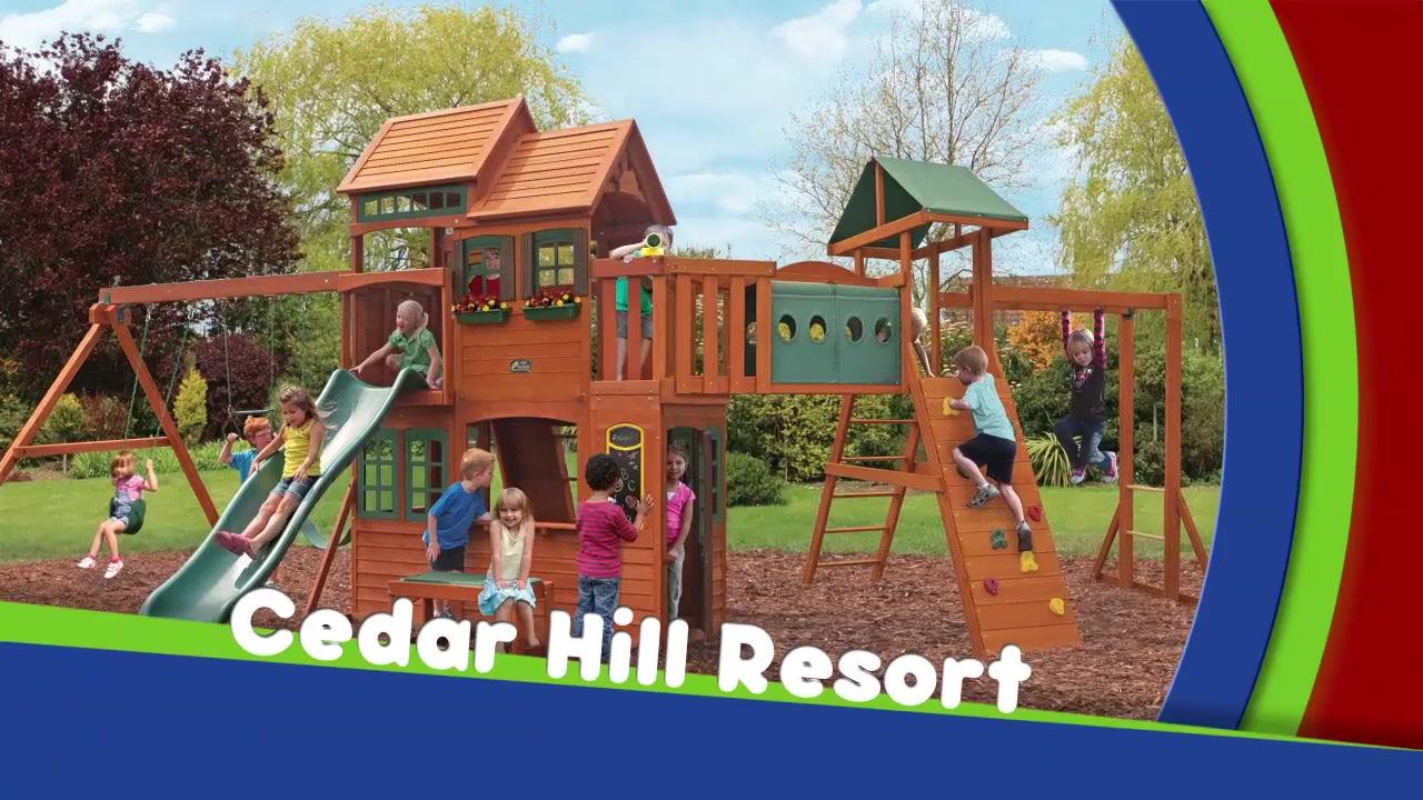 Cedar hill resort playset video gallery publicscrutiny Image collections
