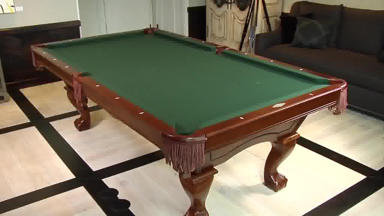 brunswick brae loch billiard table - video gallery
