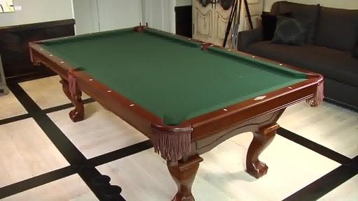 Brunswick Brae Loch Billiard Table Video Gallery - Brunswick bradford pool table