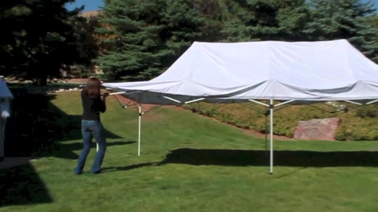undercover 10u0027 x 20u0027 grade aluminum instant canopy video gallery. & Zshade 10ft X 10ft Instant Canopy. Caravan Canopy Sports Evoshade ...