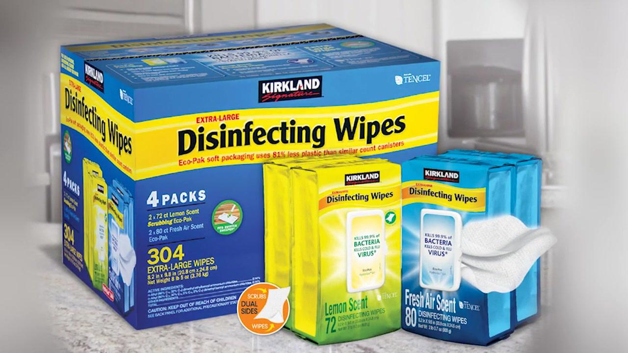Kirkland Disinfecting Wipes