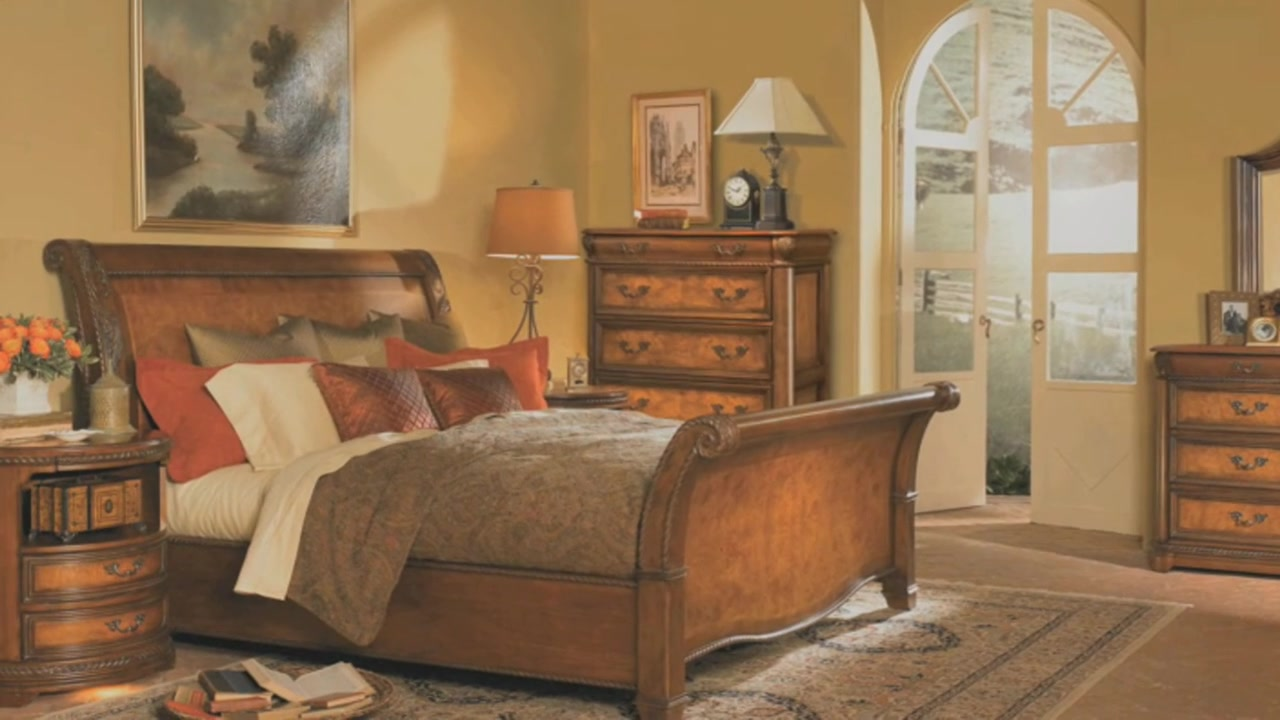 Vineyard Bedroom Collection U0026raquo; Springhill   Furniture   Bedroom  Furniture   Video Gallery