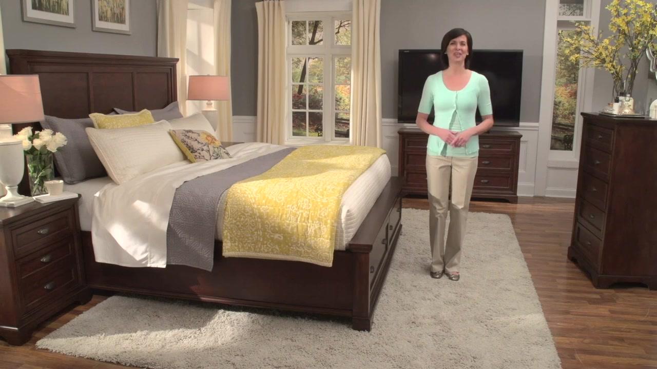Lyndhurst Bedroom Furniture Lulea Cove Bedroom Collection Video Gallery