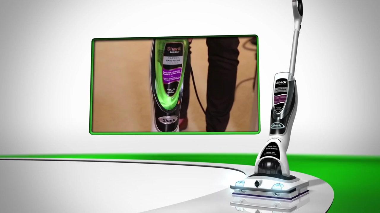 shark® sonic duo™ pro carpet & hard floor cleaner » approved
