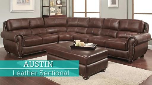 Incredible Austin Sectional Machost Co Dining Chair Design Ideas Machostcouk