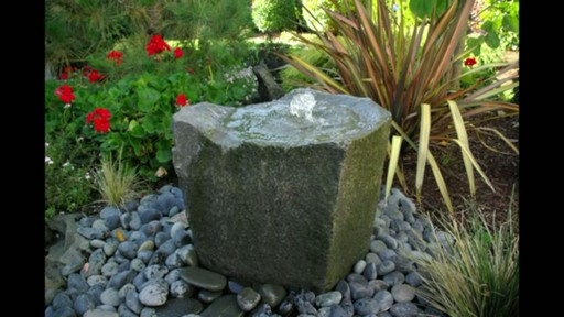 Outdoor Pond Less Water Fountain Raquo Liquid Art Fountains Video Gallery