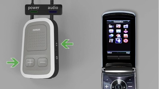 Using Phonak ComPilot with a Mobile Phone