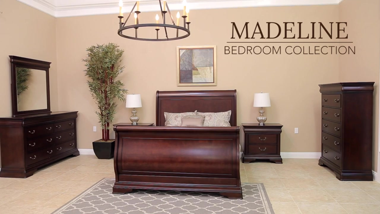 . Abbyson Living Madeline Bedroom Collection   Video Gallery