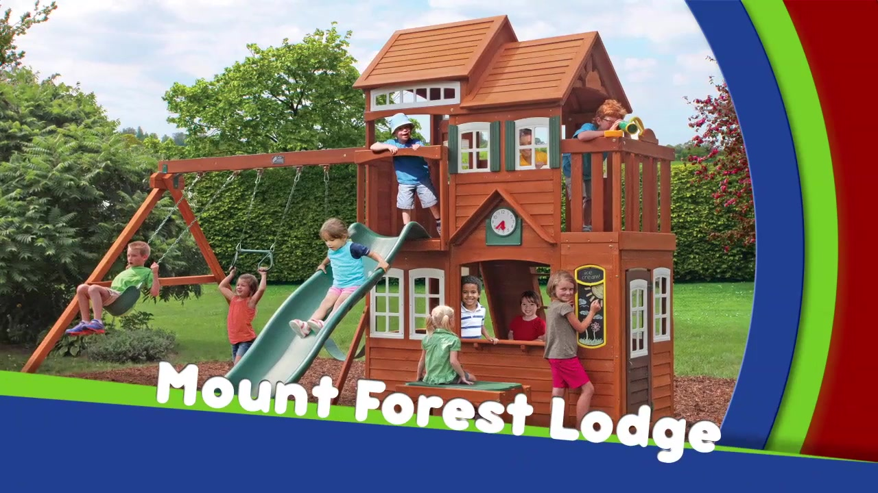 Mount forest lodge playset video gallery publicscrutiny Image collections