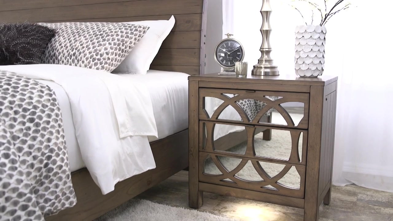 audrey bedroom collection video gallery