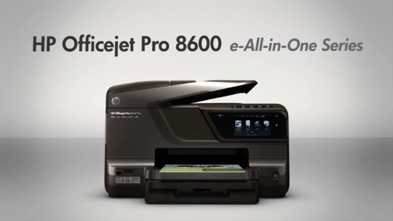 HP OfficeJet Pro 8600 Plus Wireless E All In One With AirPrint EPrint Raquo Connection