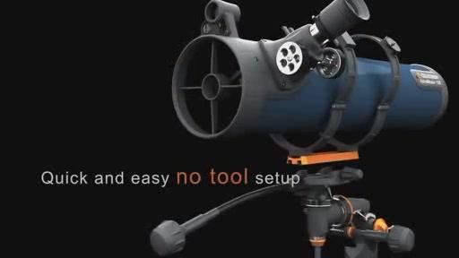 Celestron astromaster eq dual purpose telescope video gallery