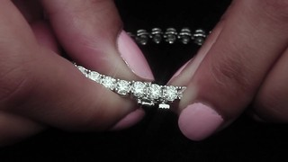 1c2fedc1e Round Brilliant 8.00 ctw VS2 Clarity, I Color Diamond 14kt White Gold  Bracelet