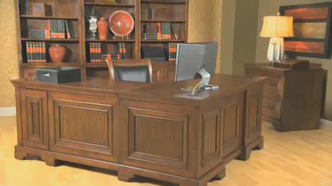 ryland 5 piece home office suite video gallery