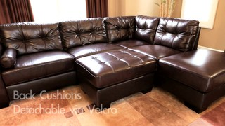 : costco leather sectional - Sectionals, Sofas & Couches