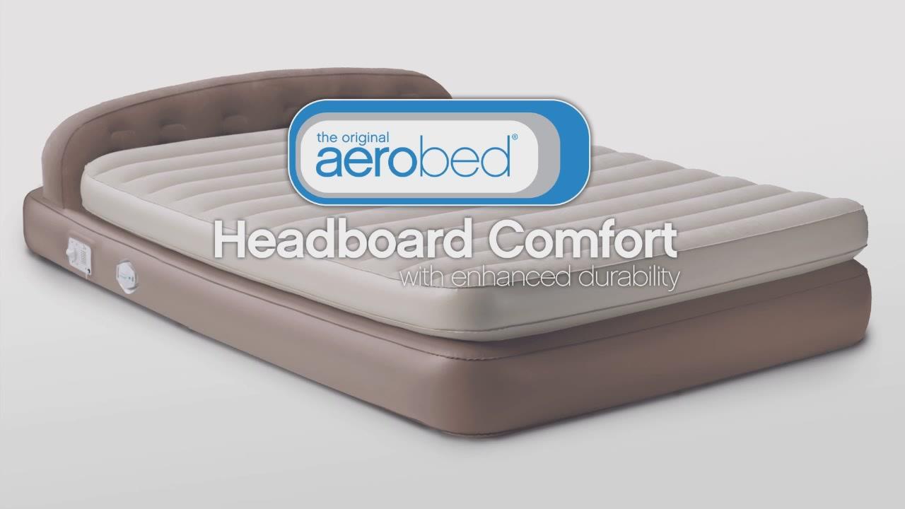 aero queen airbed - video gallery