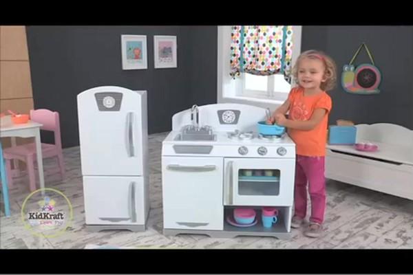 Kidkraft Kitchen White kidkraft 2pc. retro kitchen - white, $6 personalization available