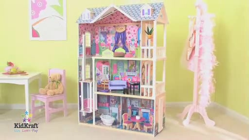 Dream Mansion Dollhouse Raquo Kidkraft Toys Video Gallery