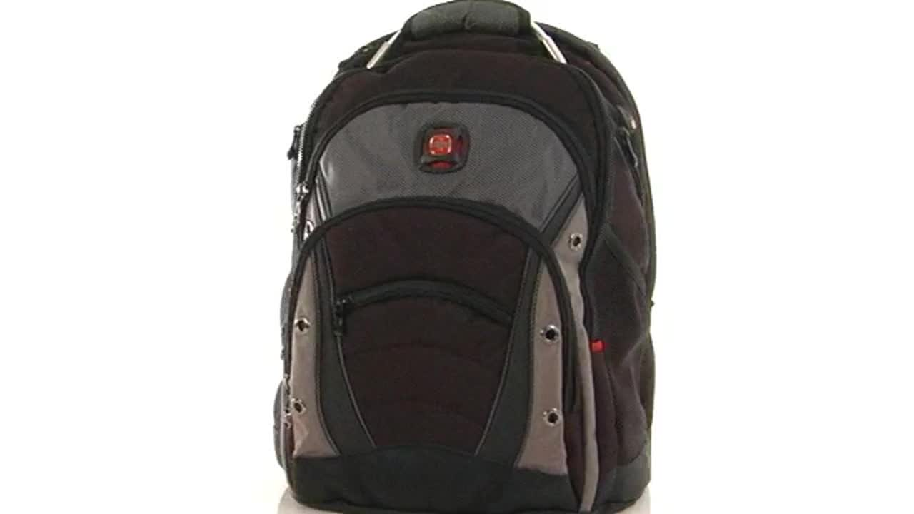 194081 Swissgear Synergy Laptop Backpack » Backpacks - Video ...