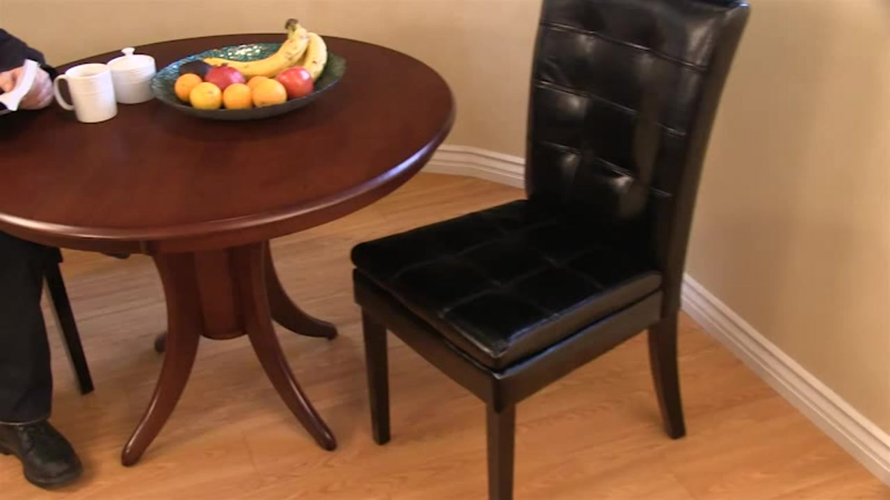 Biltmore Bonded Leather Dining Chair 2 Pack U0026raquo; Costco   Noble House    Furniture   Video Gallery