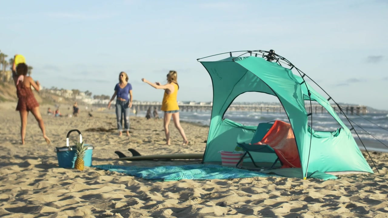 Lightsd Outdoors Newport Sun Shelter With Detachable Blanket Video Gallery