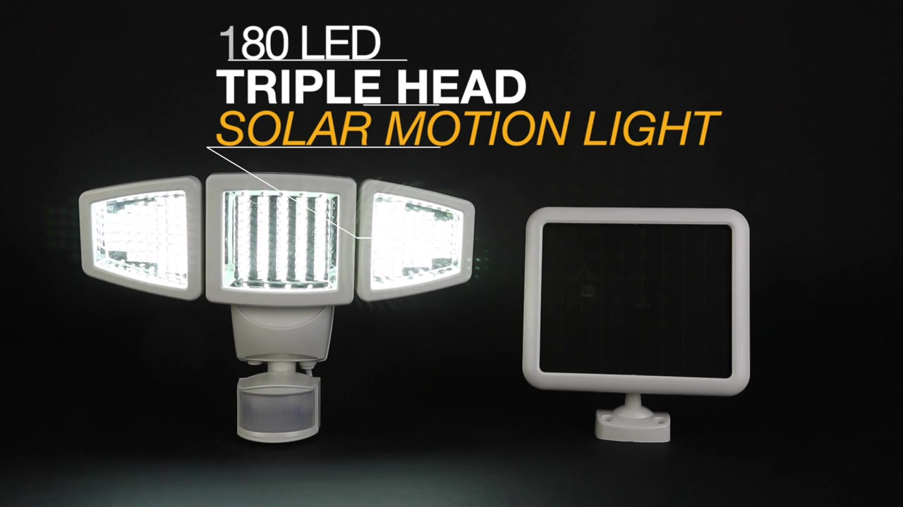 Sunforce triple head motion sensor demo video video gallery aloadofball Choice Image