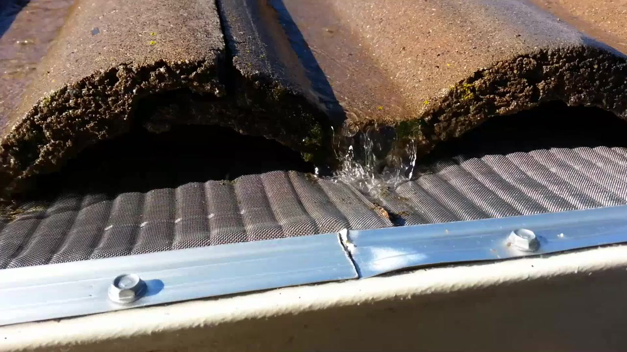 Easyon gutter guard performance video video gallery solutioingenieria Images