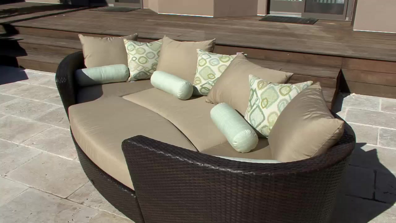 Venice 4 Piece Patio Modular Deep Seating Lounge Set By Sirio™   Video  Gallery