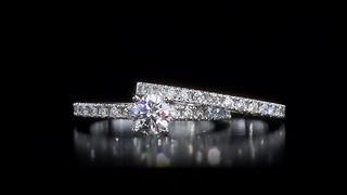 round brilliant cut audrey diamond platinum wedding set welcome