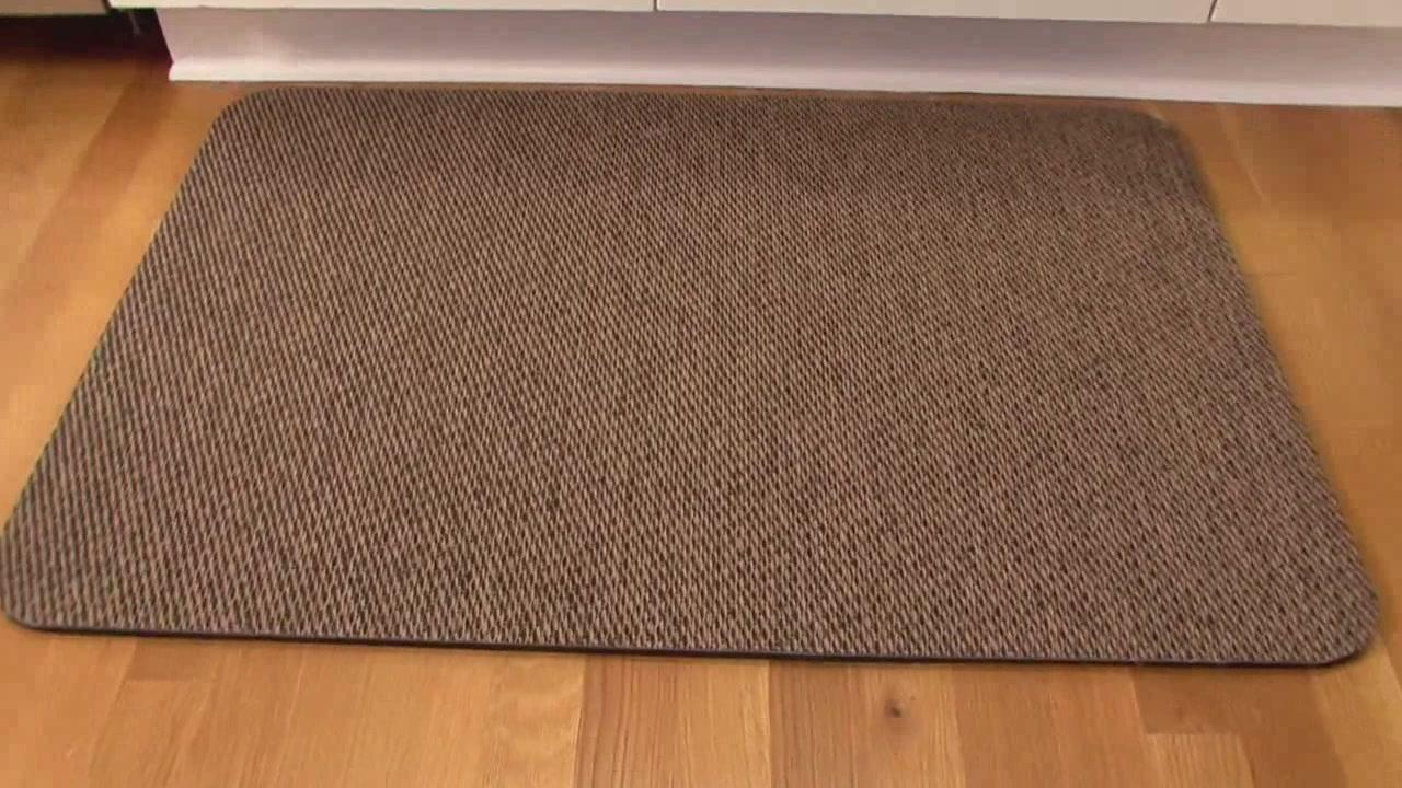 Comfort Mats For Kitchen Floor Bolon Kitchen And Comfort Mats Video Gallery